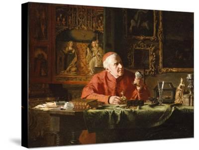The Cardinal's Treasures-E.c. Eldridge-Stretched Canvas Print