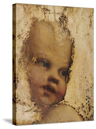 The Head of a Child, a Fragment-Correggio-Stretched Canvas Print