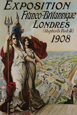 Exposition Franco-Britannique, Londres (Shepherd's Bush) 1908--Stretched Canvas Print