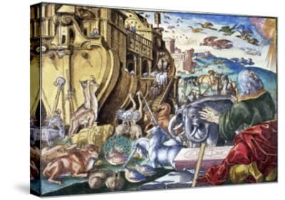Noah's Arc--Stretched Canvas Print