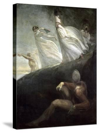 The Ladies of Hastings-Henry Fuseli-Stretched Canvas Print