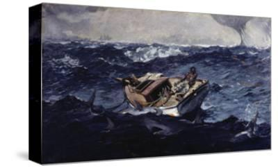 Gulf Stream-Winslow Homer-Stretched Canvas Print