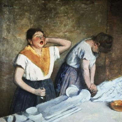 The Launderesses-Edouard Manet-Stretched Canvas Print