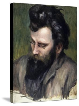 Portrait of Claude Terrasse-Pierre-Auguste Renoir-Stretched Canvas Print