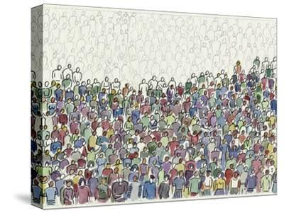 All These People-Diana Ong-Stretched Canvas Print