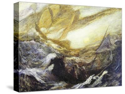 Flying Dutchman-Albert Pinkham Ryder-Stretched Canvas Print