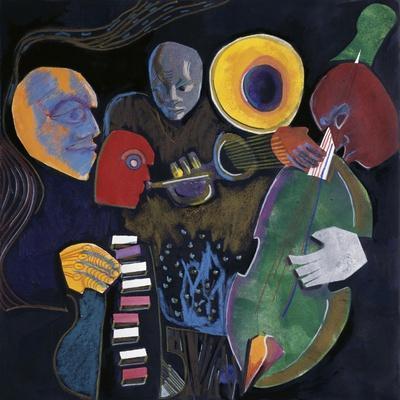 Jazz Velvet-Gil Mayers-Stretched Canvas Print