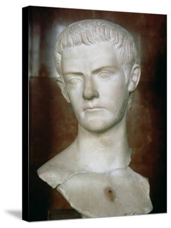 Emperor Caligula Roman, circa 31-38--Stretched Canvas Print