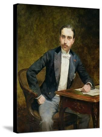 Charles Haas 1891-Theobald Chartran-Stretched Canvas Print