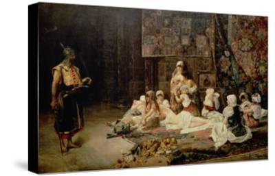 In the Harem, 1884-Jose Gallegos Arnosa-Stretched Canvas Print