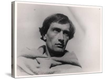 """Antonin Artaud in the Film, """"The Passion of Joan of Arc"""" by Carl Theodor Dreyer 1928--Stretched Canvas Print"""