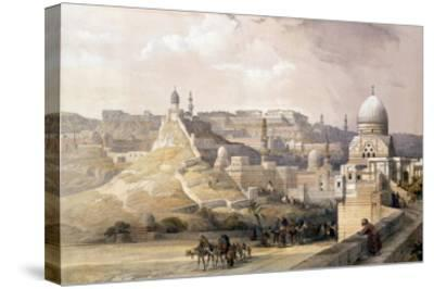 """The Citadel of Cairo, from """"Egypt and Nubia,"""" Vol.3-David Roberts-Stretched Canvas Print"""