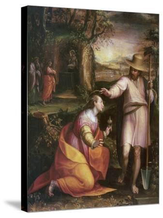 Noli Me Tangere, 1581-Lavinia Fontana-Stretched Canvas Print