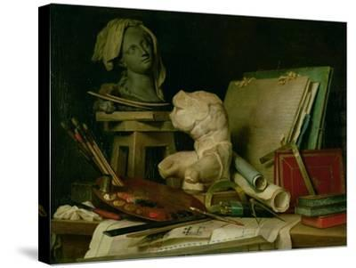 The Attributes of the Arts, 1769-Anne Vallayer-coster-Stretched Canvas Print