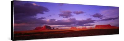 Monument Valley, Arizona, USA--Stretched Canvas Print