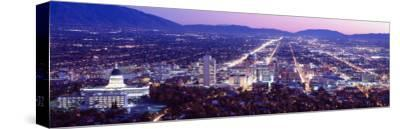 Salt Lake City, Utah, USA--Stretched Canvas Print