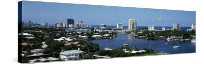 Fort Lauderdale, Florida, USA--Stretched Canvas Print