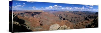 View from North Rim, Grand Canyon National Park, Arizona, USA--Stretched Canvas Print