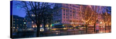 Evening, Paris, France--Stretched Canvas Print