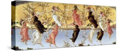 Mystic Nativity-Sandro Botticelli-Stretched Canvas Print