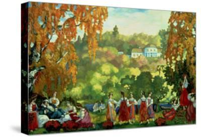 Summery Days in Early Autumn, 1916-Sergei Yurevich Sudeikin-Stretched Canvas Print