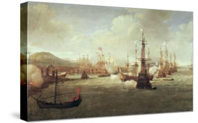 Abraham Duquesne at Chios, after 1681-Jan Karel Donatus Van Beecq-Stretched Canvas Print