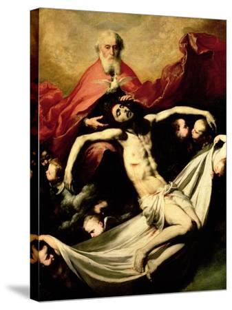 The Trinity, circa 1635-Jusepe de Ribera-Stretched Canvas Print