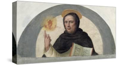 Saint Vincent Ferrer-Fra Bartolommeo-Stretched Canvas Print