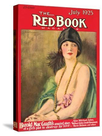 Redbook, July 1925--Stretched Canvas Print