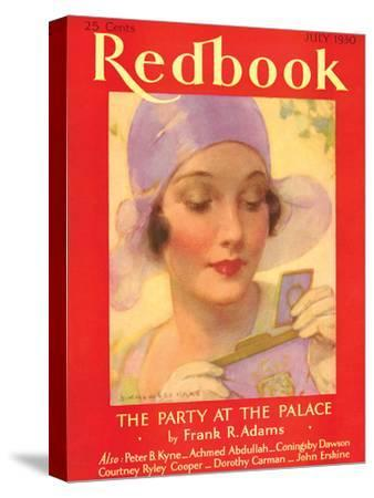 Redbook, July 1930--Stretched Canvas Print
