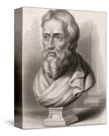 Herodotus Greek Historian-S. Freeman-Stretched Canvas Print