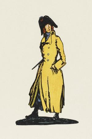Sydney Carton, Lawyer-Claud Lovat Fraser-Stretched Canvas Print