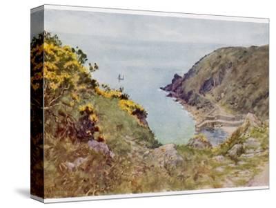 Cornish Scenery: Lamorna Cove-G^f^ Nicholls-Stretched Canvas Print