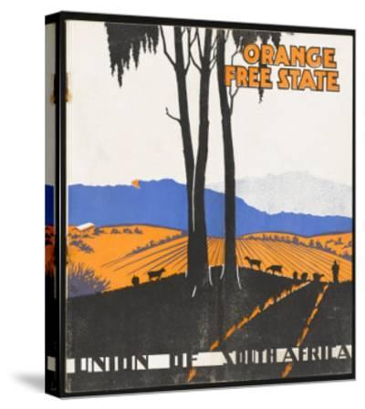 Orange Free State--Stretched Canvas Print