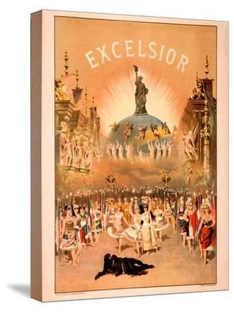 Excelsior-Forbes Co^-Stretched Canvas Print