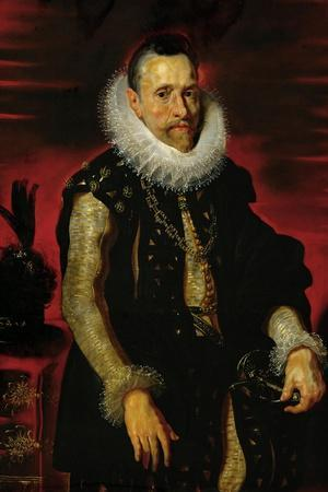 Archduke Albrecht VII (1559-1621), Governor of the Netherlands-Peter Paul Rubens-Stretched Canvas Print