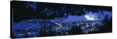 Davos, Switzerland--Stretched Canvas Print