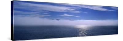 Clouds over the Sea, Hasavak, Fjord, Iceland--Stretched Canvas Print