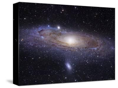 The Andromeda Galaxy-Stocktrek Images-Stretched Canvas Print