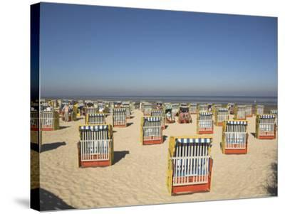 Cuxhaven, Lower Saxony, Germany-Charles Bowman-Stretched Canvas Print