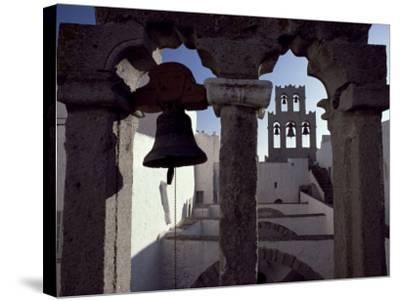 Monastery of St. John, Patmos, Dodecanese Islands, Greece-David Beatty-Stretched Canvas Print