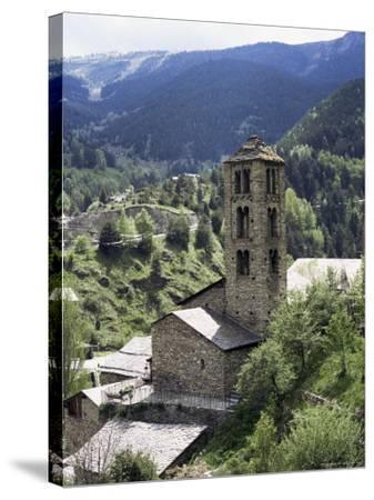 Church of St. Climent De Pal, Pal, Andorra-Pearl Bucknall-Stretched Canvas Print