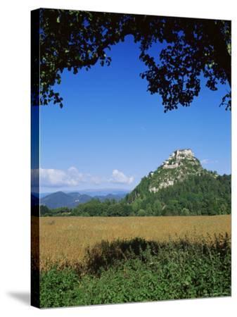 Hochosterwitz Castle, Carinthia, Austria-Jean Brooks-Stretched Canvas Print