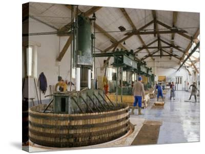 Champagne Wine Presses, Verzy, Champagne Ardennes, France-Michael Busselle-Stretched Canvas Print