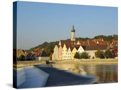 Landsberg Am Lech, Bavaria (Bayern), Germany-Gary Cook-Stretched Canvas Print