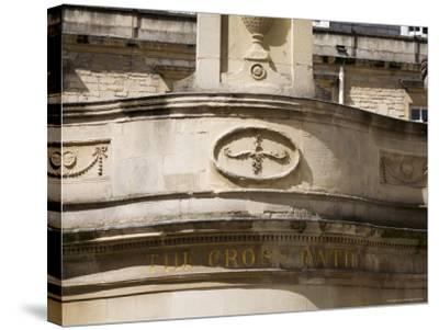 Thermae Bath Spa, Bath, Avon, England, United Kingdom-Matthew Davison-Stretched Canvas Print