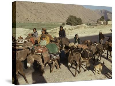 Migration of the Qashgai Tribe, Iran, Middle East-Sybil Sassoon-Stretched Canvas Print