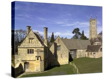 Honey Coloured Stone Buildings, Chipping Campden, the Cotswolds, Gloucestershire, England-David Hughes-Stretched Canvas Print