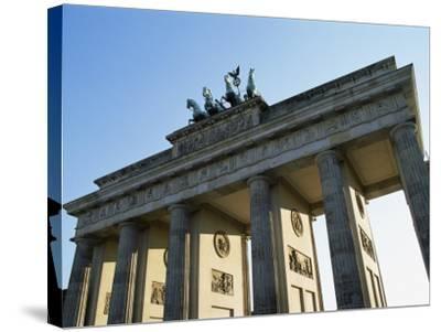 Brandeburg Gate, Berlin, Germany-Hans Peter Merten-Stretched Canvas Print