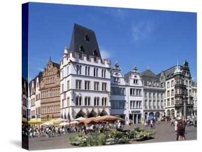 Townhall, Paderborn, North Rhine-Westphalia (Nordrhein-Westfalen), Germany-Hans Peter Merten-Stretched Canvas Print